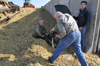 A visit of National Geographic's photojournalist to Agro-Soyuz